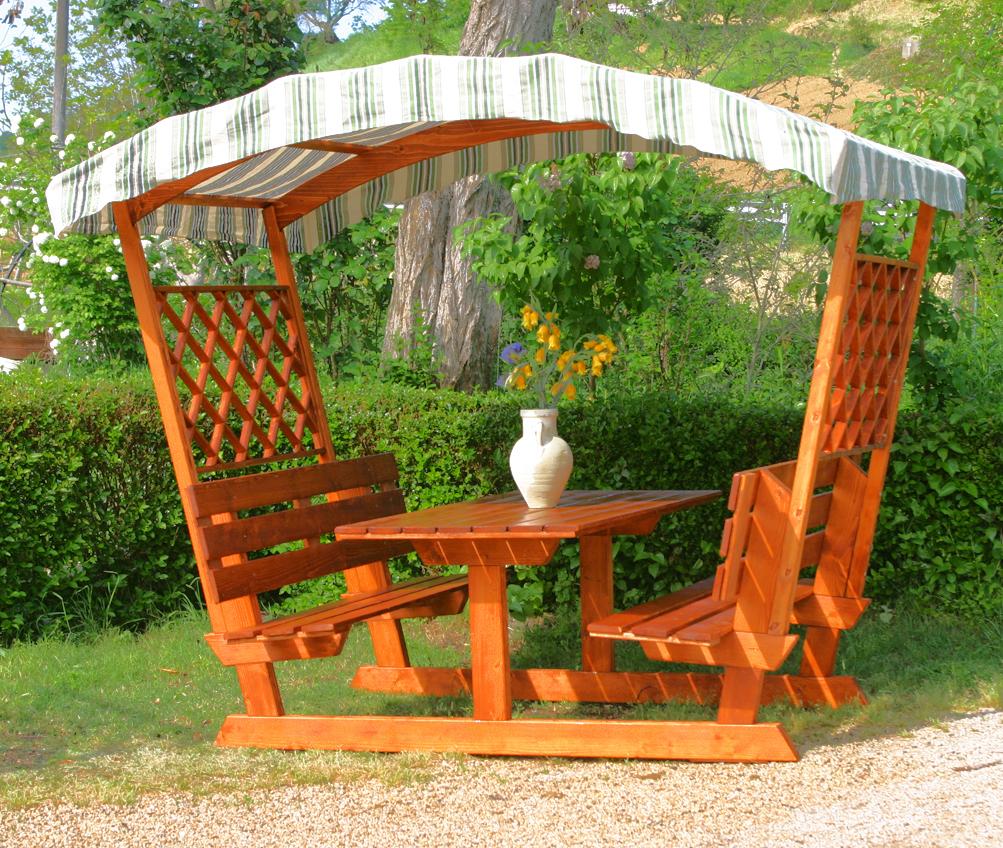 Tavoli per l 39 esterno in legno tavolo mod party con - Tavoli per esterno in legno ...